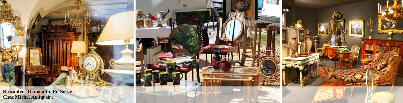 Brocanteur  dammartin-en-serve-78111 Chez Michel Antiquaire
